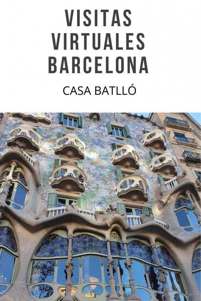 VISITAS VIRTUALES BARCELONA  CASA BATLLÓ