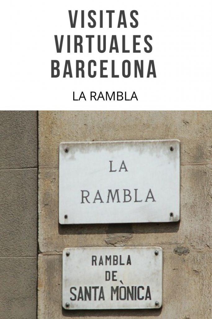 VISITAS VIRTUALES BARCELONA LA RAMBLA