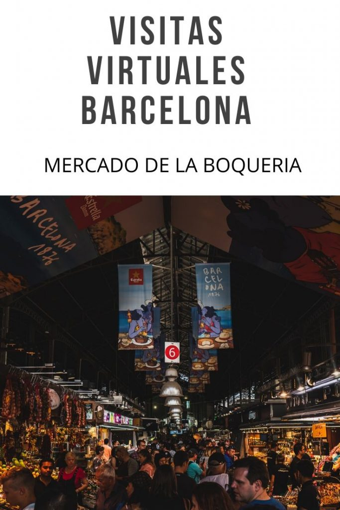 mercado de la Boqueria visita virtual